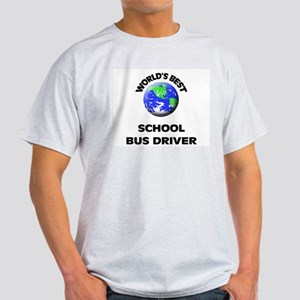World's Best School Bus Driver T-Shirt
